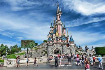 Dạo chơi thế giới cổ tích tại công viên Disneyland Paris