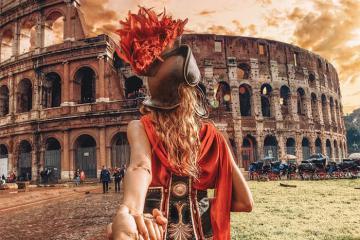 Đến Italia không thể bỏ lỡ chuyến du lịch Rome vạn người mê