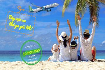 'Bay cực xa thả ga giá tốt' cùng Bamboo Airways suốt hè này