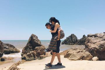 Bị đốn tim trước vẻ đẹp hoang sơ, thơ mộng biển Nhật Lệ