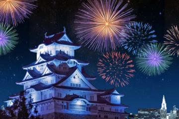 Rực rỡ mùa lễ hội pháo hoa tại Nhật Bản
