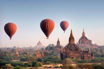 Thành phố cổ Bagan - xứ sở thiên đường của Myanmar