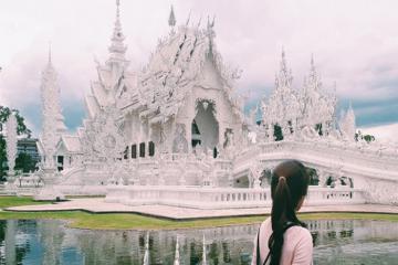 Viếng thăm chùa trắng Thái Lan – Nơi nối liền thiên đường và địa ngục