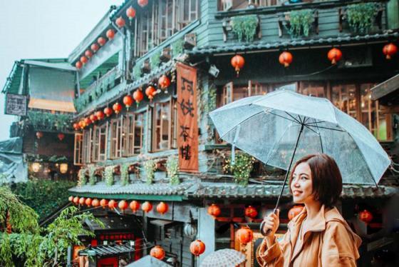 Lạc vào mê cung nghệ thuật tại làng cổ Cửu Phần Đài Loan