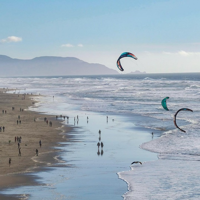 Dạo bước khám phá vẻ đẹp quyến rũ của bãi biển Ocean San Francisco