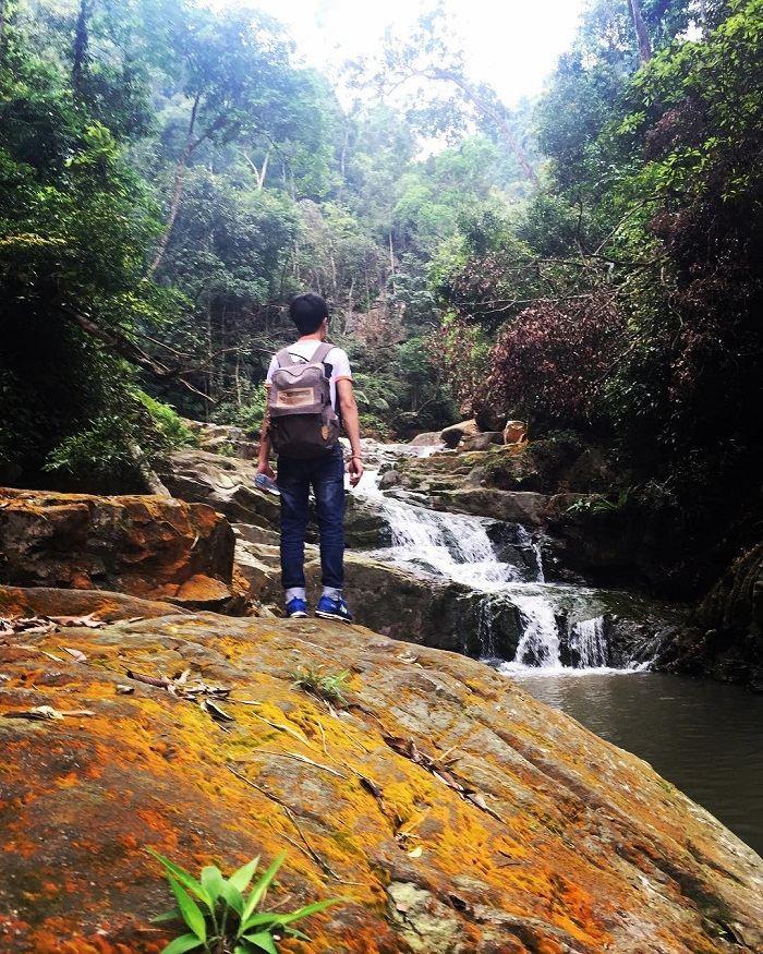 hành trình khám phá thác Ba Tia Bắc Giang