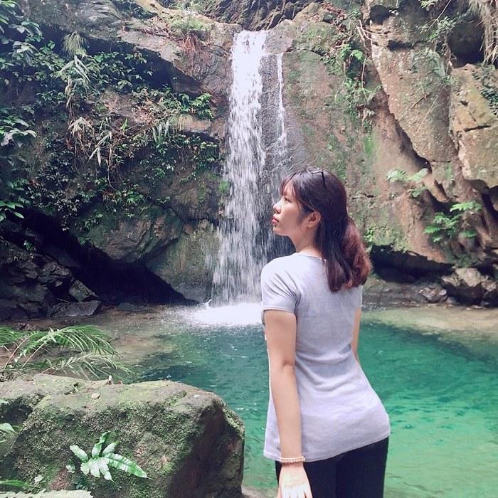 khám phá thác Ba Tia Bắc Giang