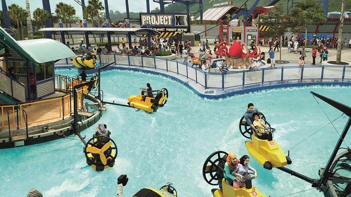 Khu công viên nước - công viên Legoland Malaysia