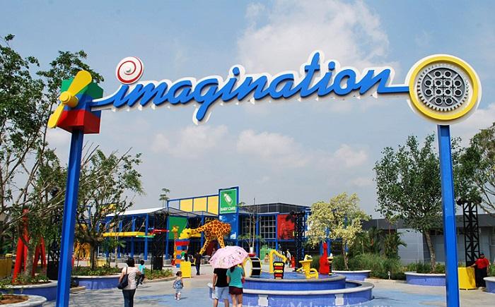 Imagination - công viên Legoland Malaysia
