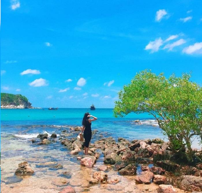 Bai Ngu - a beautiful place on Nam Du Island