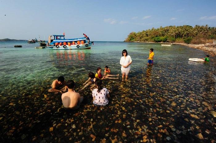 Den Da Den - a beautiful place on Nam Du Island