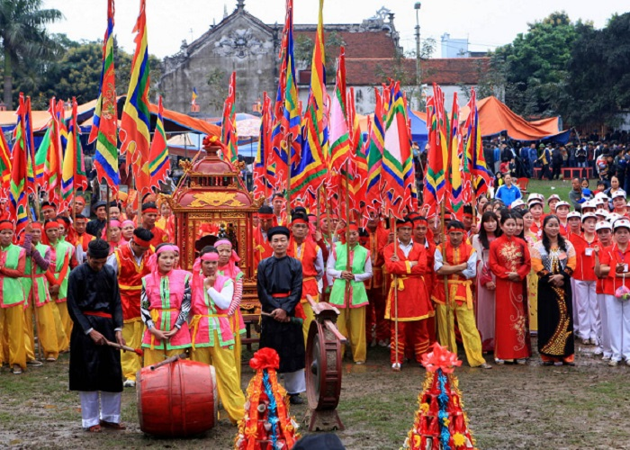 lễ hội truyền thống ở Hà Nam