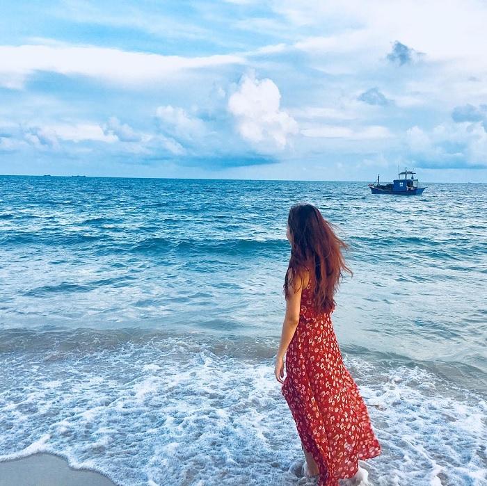 Xóa tan cái nóng ở biển Ninh Chữ Ninh Thuận