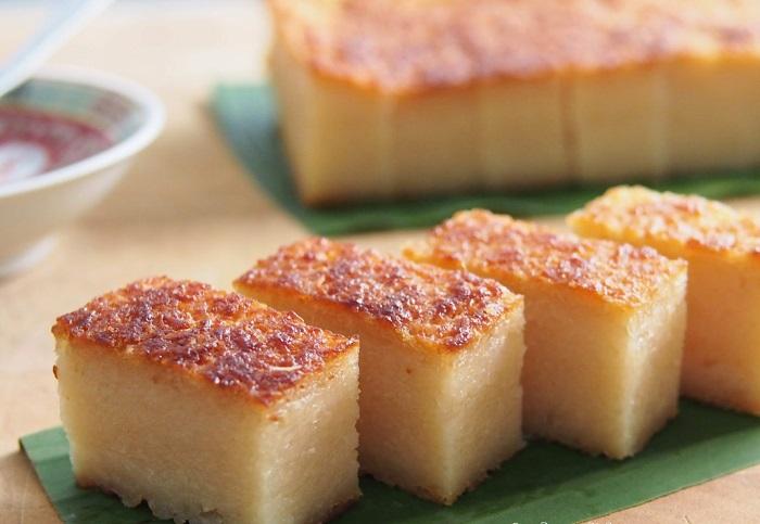 Bánh Bingka ubi - những món bánh nổi tiếng của Malaysia