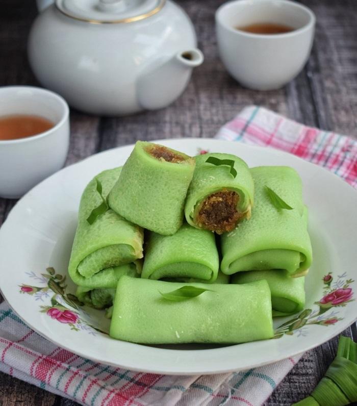 Bánh Kuih dalar - những món bánh nổi tiếng của Malaysia