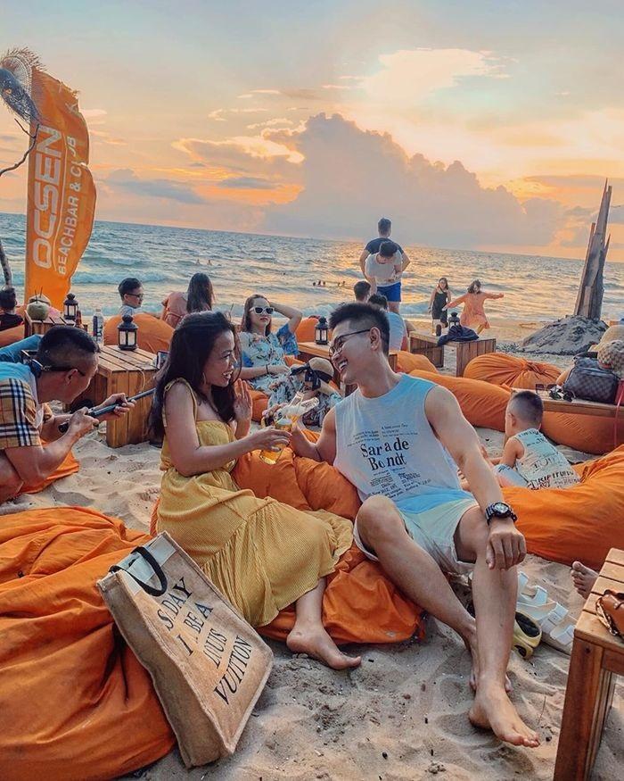 OCSEN Beach Bar & Club - quán bar đẹp tại Phú Quốc
