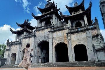 Khám phá kiến trúc độc lạ có 1-0-2 ở nhà thờ đá Phát Diệm, Ninh Bình