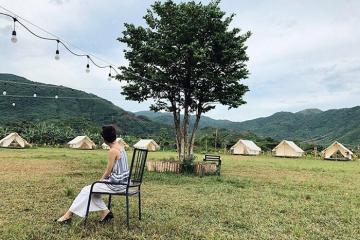 Tận hưởng mùa hè rực rỡ tại khu du lịch Hòa Bắc Đà Nẵng