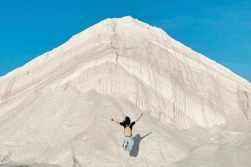 Cánh đồng muối Đầm Vua: thiên đường sống ảo ít người biết đến ở Ninh Thuận