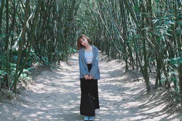 Rủ rê hội bạn thân đến check-in làng tre Phú An HOT nhất Bình Dương