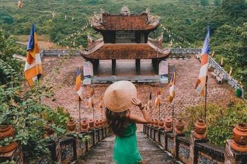 Chùa Phật Tích Trúc Lâm Bản Giốc - chùa thiêng nơi miền biên viễn Cao Bằng