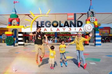 Trở về ký ức tuổi thơ tại công viên Legoland Malaysia