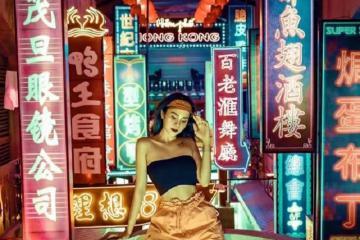 Lộ diện con phố HongKong ở Hải Dương khiến giới trẻ yêu thích