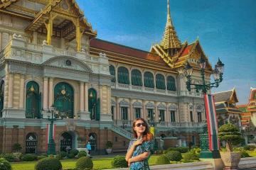 Lạc vào khung cảnh lộng lẫy nơi cung điện Hoàng gia Thái Lan