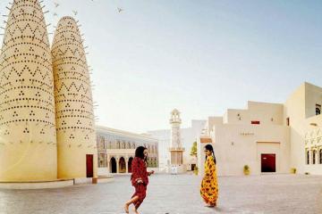 Chìm đắm với các công trình kiến trúc độc đáo ở làng văn hóa Katara