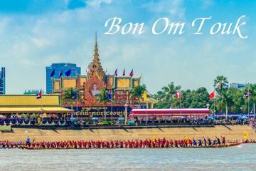 Kinh nghiệm đi lễ hội Bon Om Touk Campuchia vui chơi thả ga