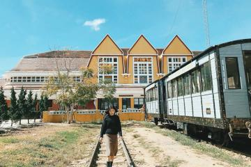 Mục sở thị nhà ga Đà Lạt - ga tàu lửa cổ bậc nhất Việt Nam