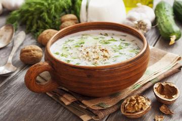 Súp lạnh Tarator Bulgaria - món ăn giúp giải nhiệt mùa hè vạn người mê ở xứ sở hoa hồng