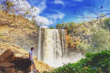 Khám phá vẻ đẹp thác Phú Cường - đệ nhất thác ở Gia Lai
