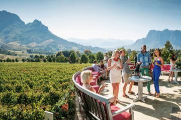 'Lạc trôi' đến Stellenbosch Nam Phi khám phá xứ sở rượu vang diệu kỳ