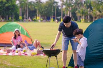 Tất tần tật cẩm nang dã ngoại tại Ecopark: chơi gì, ăn gì, giá vé bao nhiêu?