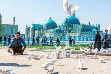 Nhà thờ Hồi giáo Xanh - ốc đảo hòa bình ở Afghanistan