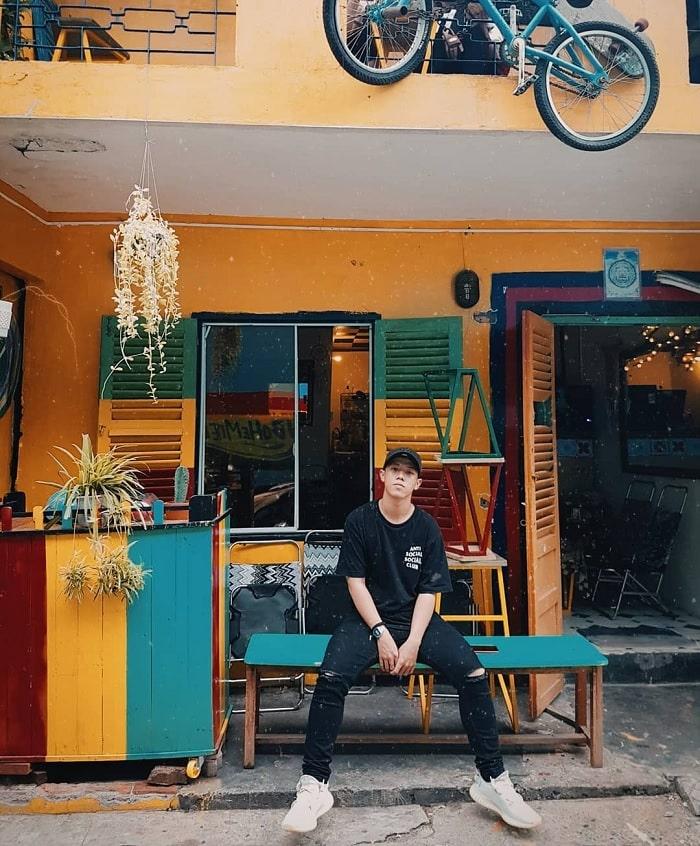 Bohemiens Cafe - quán cà phê đẹp ở Vũng Tàu cứ lên hình là hút like 'rần rần'
