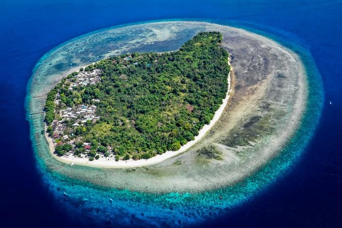 Đảo Siladen ở Bunaken - Đảo du lịch ở Indonesia
