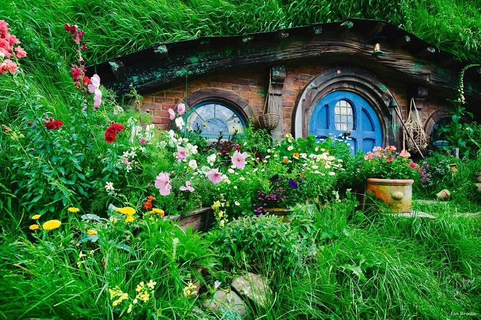 Những căn nhà Hobbiton xinh xắn - thị trấn Matamata New Zealand