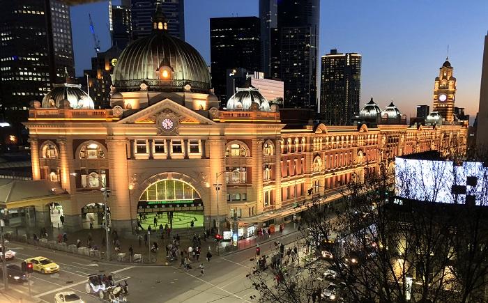 Nhà ga Flinders Street - Nhà ga đẹp trên thế giới