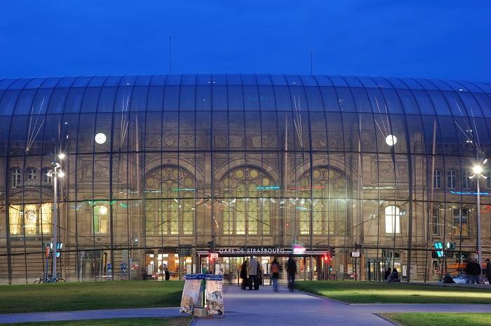 Nhà ga Gare de Strasbourg - Nhà ga đẹp trên thế giới