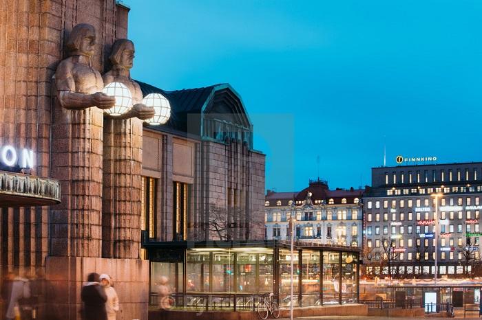 Nhà ga Helsinki Central - Nhà ga đẹp trên thế giới
