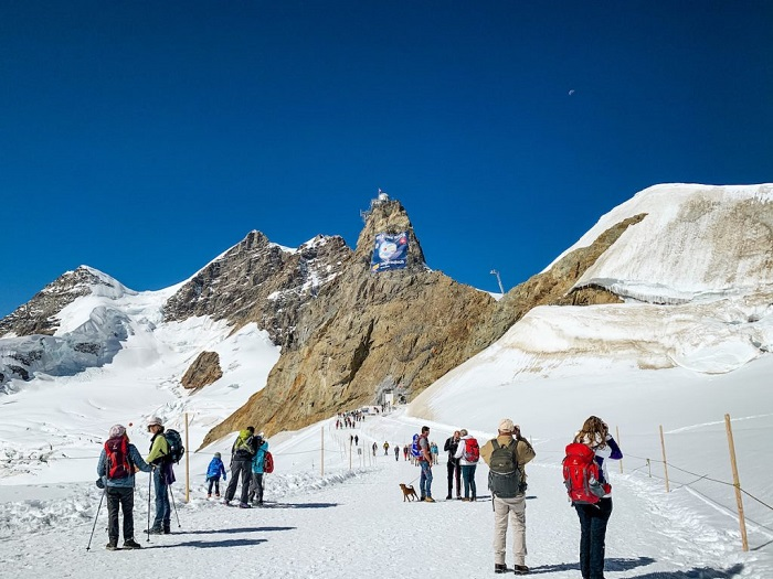 Cao nguyên băng Jungfraujoch - Làng Wengen