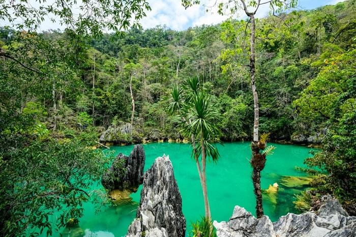 Blue Lagoon tại Đảo Labengki - Đảo du lịch ở Indonesia