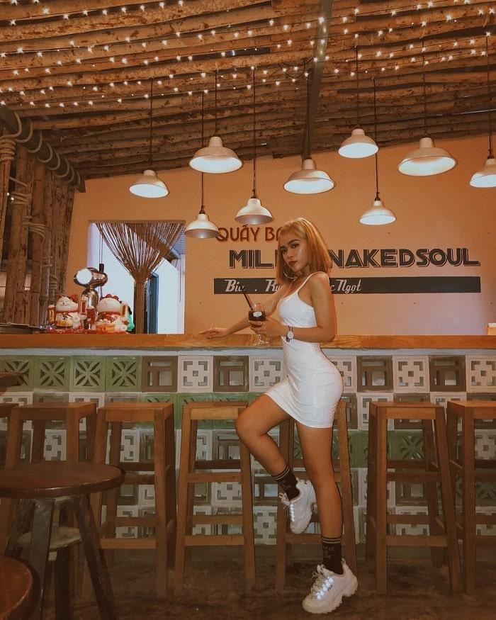 MILLA nakedsoul coffee - quán cà phê đẹp ở Vũng Tàu cứ lên hình là hút like 'rần rần'