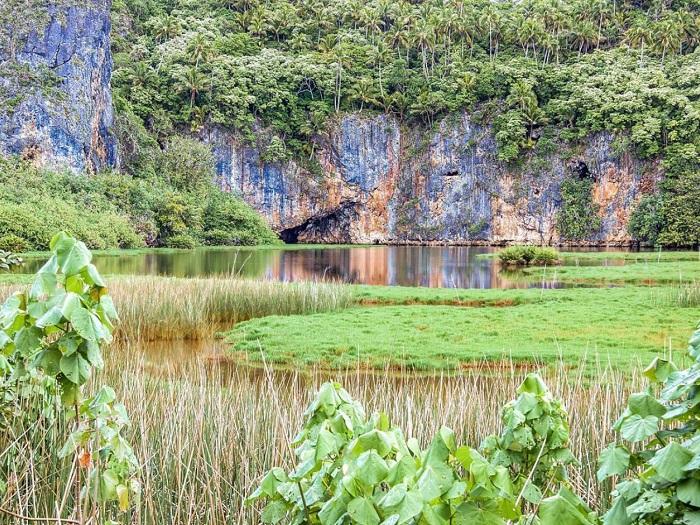 Thiên nhiên trên đảo Mangaia - Quần đảo Cook