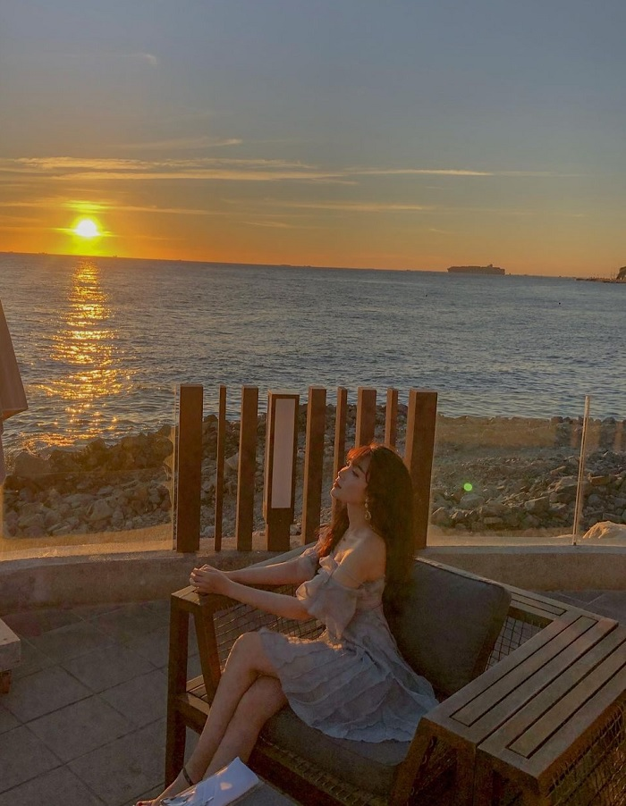 Marina Club - sea view cafe in Vung Tau is breathtakingly beautiful