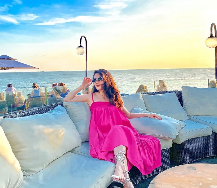 Marina Club - the famous sea view cafe in Vung Tau