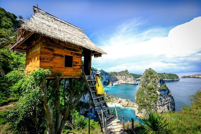 Nhà trên cây Rumah Pohon ở Nusa Penida - Đảo du lịch ở Indonesia