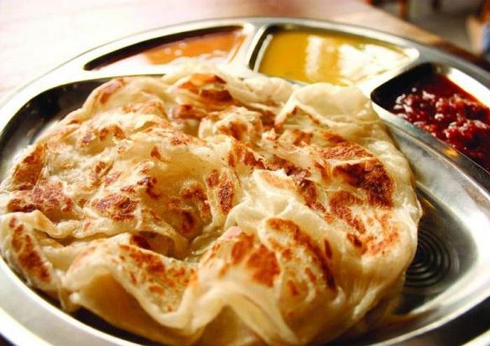 Roti canai - Những món ăn sáng ngon nhất châu Á